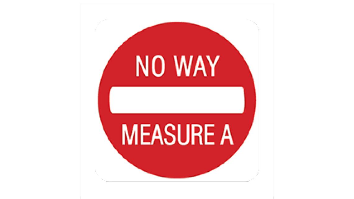 No Way Measure A